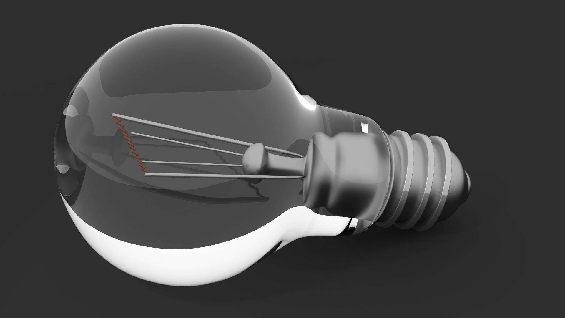 La lampara de filamentos LED1920